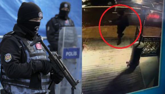 Megaoperativo en Turquía para atrapar al atacante de Estambul