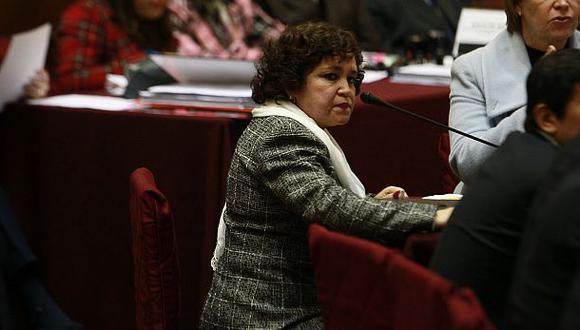 Sonia Medina, procuradora antidrogas, espera que resultado de investigación del ex secretario de Fuerza Popular tenga algún rédito para la institución. (Foto: Alessandro Currarino/ Archivo El Comercio)