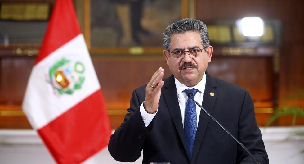 Manuel Merino estuvo cinco días en el cargo de presidente de la República y pide pensión vitalicia al Congreso (Foto: Grupo El Comercio).