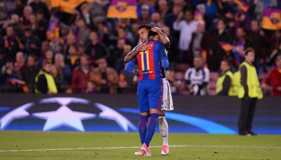 Dani Alves reveló qué le dijo a Neymar al verlo llorar [VIDEO]