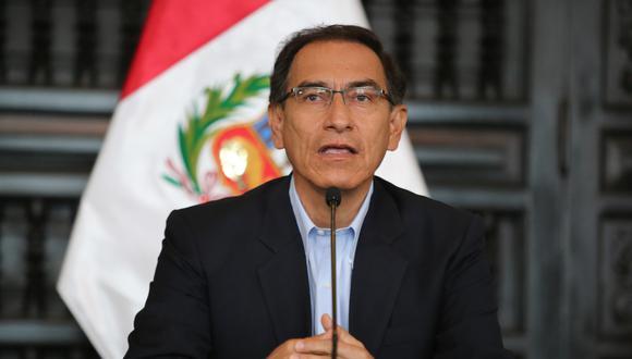 Martín Vizcarra no descartó reunirse eventualmente con el fiscal de la Nación, Pedro Chávarry. (Foto: GEC)