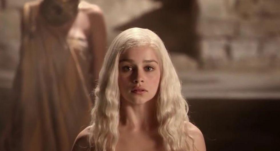 """Emilia Clarke en la primera temporada de """"Game Of Thrones"""". (Foto: HBO)"""