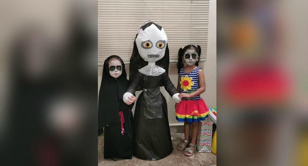"""Se viralizó en Facebook la historia de Lucía, una menor mexicana que celebró su cumpleaños al estilo de """"La Monja"""". (Foto: Laura E. Brown)"""