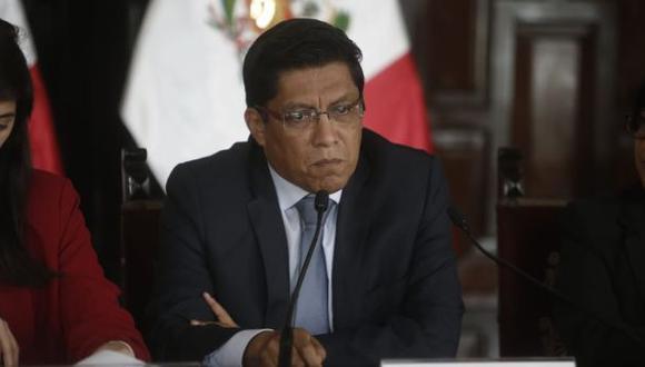 El primer ministro, Vicente Zeballos, dijo que Edmer Trujillo no ha sido hallado responsable de irregularidades en el Hospital de Moquegua. (Foto: Mario Zapata/ GEC)