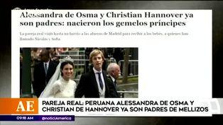 Christian de Hannover y Alessandra de Osma se convierten en padres de mellizos