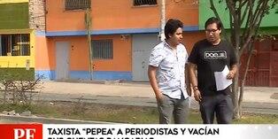 Centro de Lima: periodistas fueron drogados y asaltados por un taxista