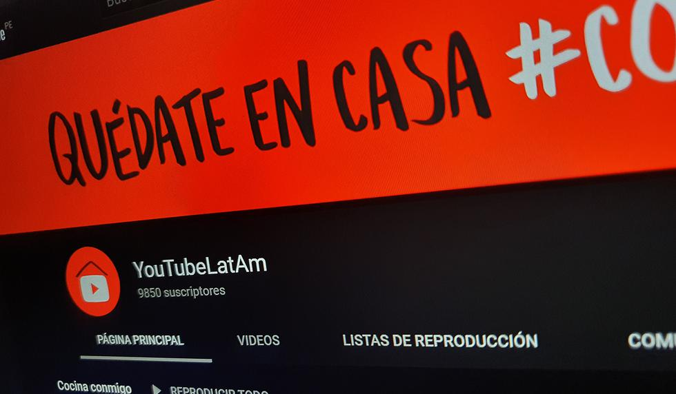 Conoce cómo acceder a las playlist de YouTube para divertirte durante tu cuarentena para evitar el coronavirus. (Foto: YouTube)