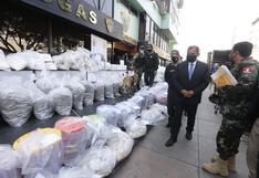 Policía Nacional presentó 5 toneladas de droga decomisada en Lima, Cusco, Huánuco, Piura y Vraem | FOTOS