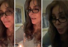 Verónica Castro cumple 68 años y lo celebró con sus seguidores en Twitter | VIDEO