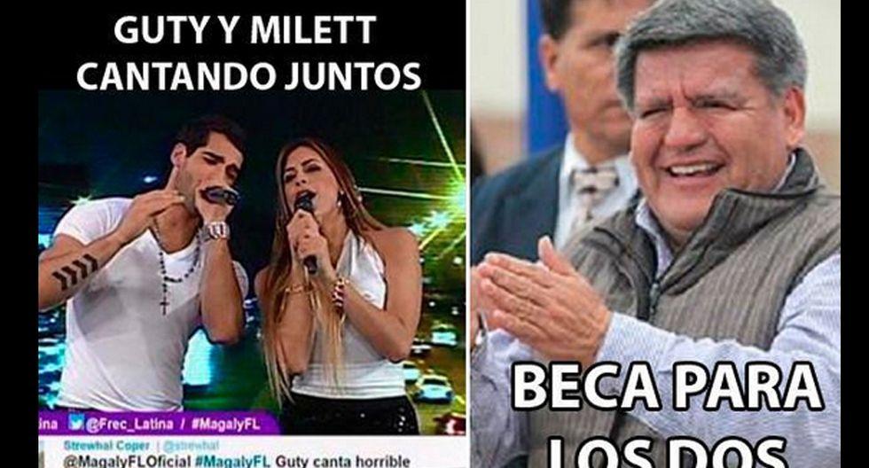 Los memes del reencuentro de Milett Figueroa y Guty Carrera - 6