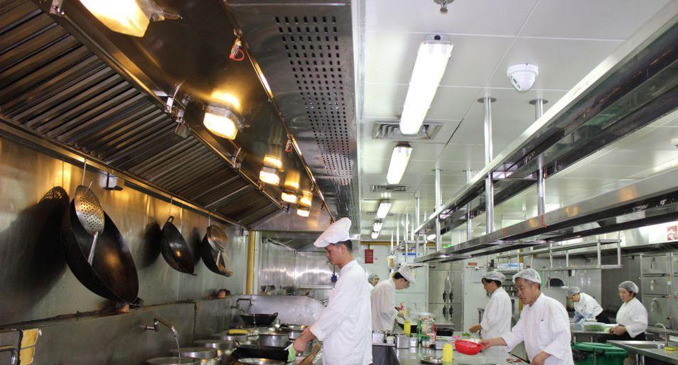 Desde el pasado mes de enero, unas 1.700 cámaras han sido instaladas en 800 restaurantes del distrito de Minhang.(EFE)