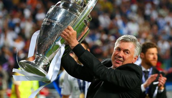 Ancelotti ganó la Champions League con el Real Madrid en el año 2014. (Foto: Agencias)