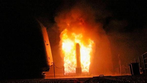 YouTube | El video del bombardeo en Siria que más sorprende al mundo | Tomahawk | Submarino | Siria | VIDEO (Foto: Reuters)