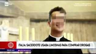 Italia: sacerdote utilizaba limosnas para organizar fiestas sexuales y comprar drogas