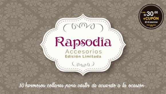Collares Rapsodia, el accesorio que ilumina tu outfit