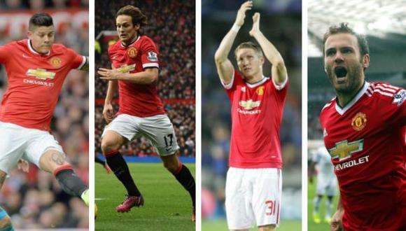 José Mourinho relegó a estos jugadores del Manchester United