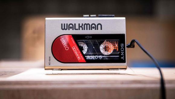 Walkman. En la actualidad hay ejemplares que siguen circulando en el mercado de segunda mano. Uno fue vendido en 11.000 euros. (Foto: AFP)