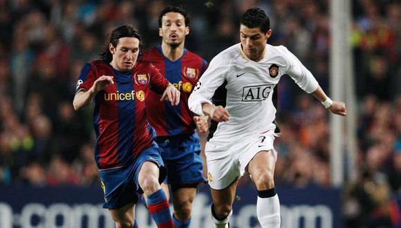 Wayne Rooney escogió a Lionel Messi por encima de su excompañero Cristiano Ronaldo . (Foto: AFP)