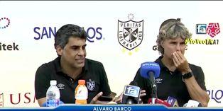 Álvaro Barco arremetió contra el arbitraje tras la derrota por 2 a 1 ante Alianza Universidad