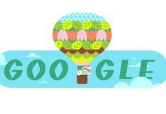 Google y el doodle con el que le da la bienvenida a la primavera