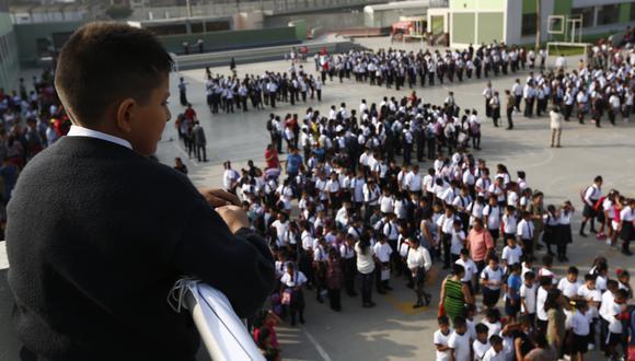 Elio Caña señaló que existen brechas educativas muy grandes. (Foto: Archivo de GEC/ César Fajardo)