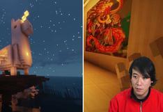 El peruano que creó el primer centro cultural en Minecraft en forma de 'Llamicornio'