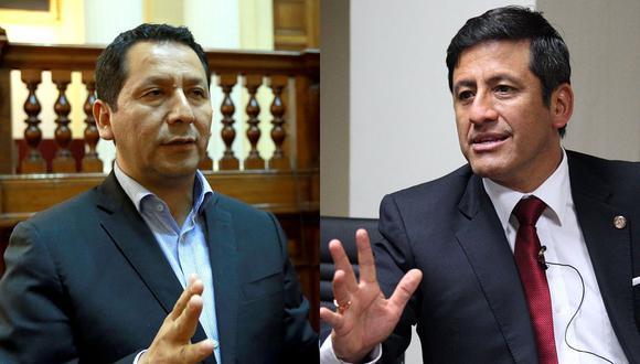 Clemente Flores y Guido Aguila fueron denunciados por la fiscal de la Nación, Zoraida Ávalos.