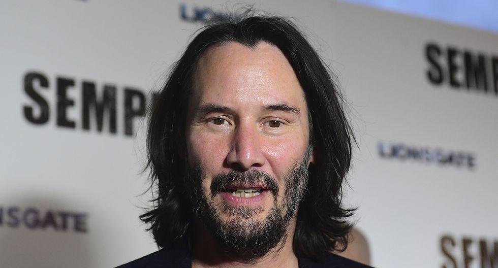 10. Keanu Reeves, 16.6 millones de visitas. (AFP)