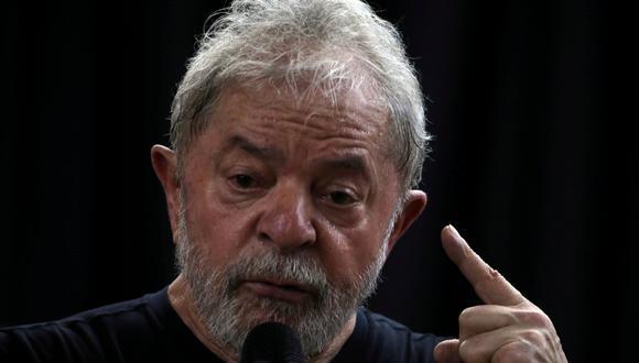 Lula da Silva cumple una condena por corrupción. (REUTERS/Paulo Whitaker).