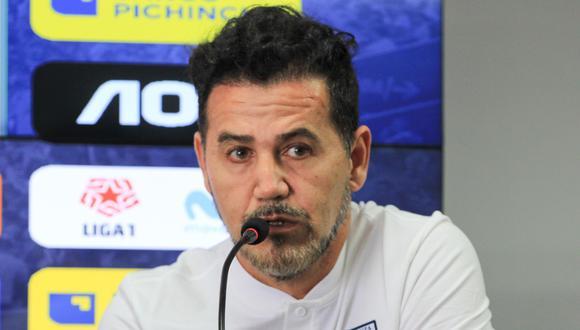 Daniel Ahmed es entrenador de Alianza Lima desde inicios de noviembre de este año. (Foto: GEC / Difusión)