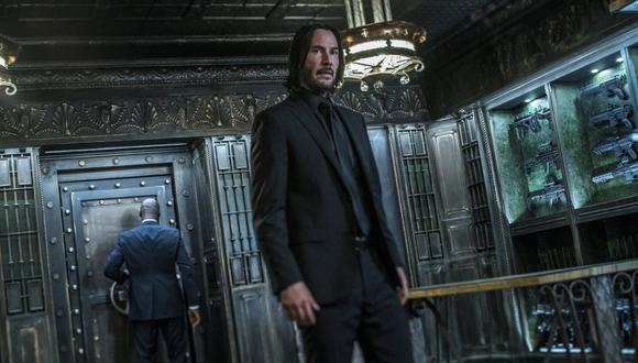 Keanu Reeves en John Wick. (Foto: AP)