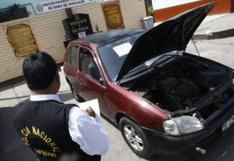 Policía Nacional: estos son los distritos de Lima con mayor número de robos de vehículos