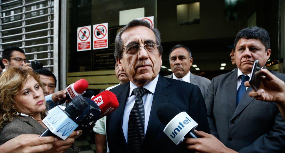 """Jorge del Castillo indicó que las denuncias en su contra son """"cortinas de humo"""" creadas por el Gobierno. (Foto: GEC)"""