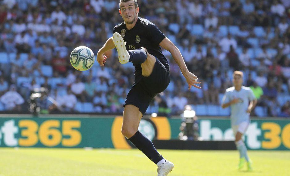 Gareth Bale fue titular en el triunfo del Real Madrid   Foto: EFE