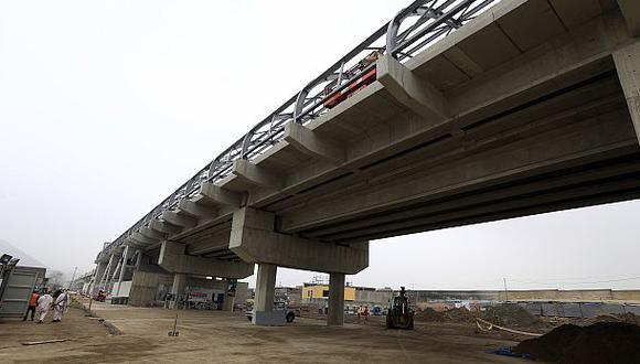 Se invirtió US$872.9 mlls. en obras de transporte concesionadas - 1