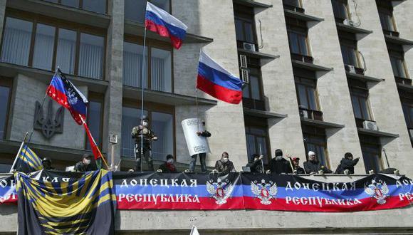 Ucrania: Prorrusos declaran a Donetsk una república soberana