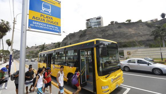 El nuevo paradero, a la altura de la estación Plaza de Flores del Metropolitano, se dirigirá hacia las playas de Barranco y Chorrillos. (Foto: MML)
