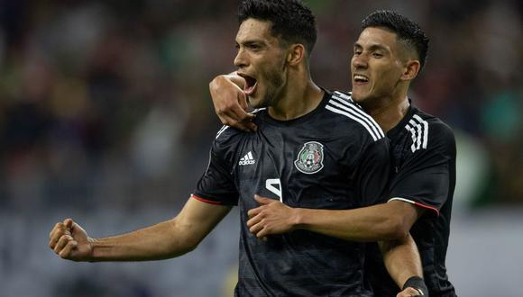 México vs. Costa Rica: Raúl Jiménez marcó el 1-0 en Houston por cuartos de final de la Copa Oro 2019 | VIDEO. (Foto: AFP)