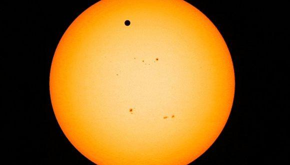 El Tránsito de Mercurio podrá ser visualizado en varios países, incluido Perú, pero deberá visualizarse con protección solar. (Foto: NASA)
