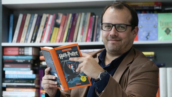 Jéronimo Pimentel, director editorial de Penguin Random House. (Foto: Manuel Melgar)