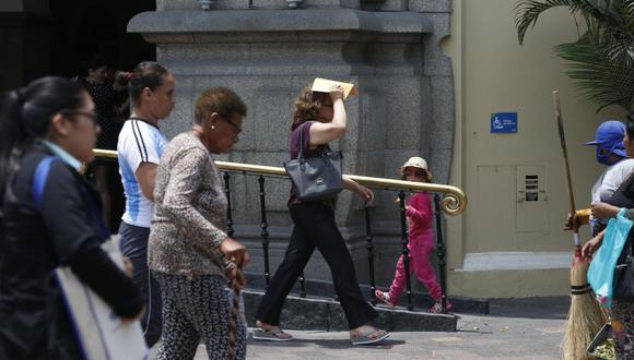 En Lima Oeste, la temperatura máxima llegaría a 25°C, mientras que la mínima sería de 20°C.  (Foto: GEC)