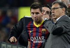 """Gerardo Martino a Lionel Messi en Barcelona: """"Ya sé que si usted llama al presidente me echa"""""""