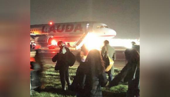 Los vuelos con destino Stansted fueron desviados hacia otros aeropuertos. (Foto: Captura Twitter)