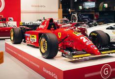 F1: el primer monoplaza de Michael Schumacher en Ferrari sale a la venta | FOTOS