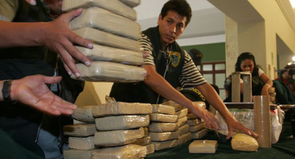 Incautan 260 kilos de cocaína proveniente del Vraem