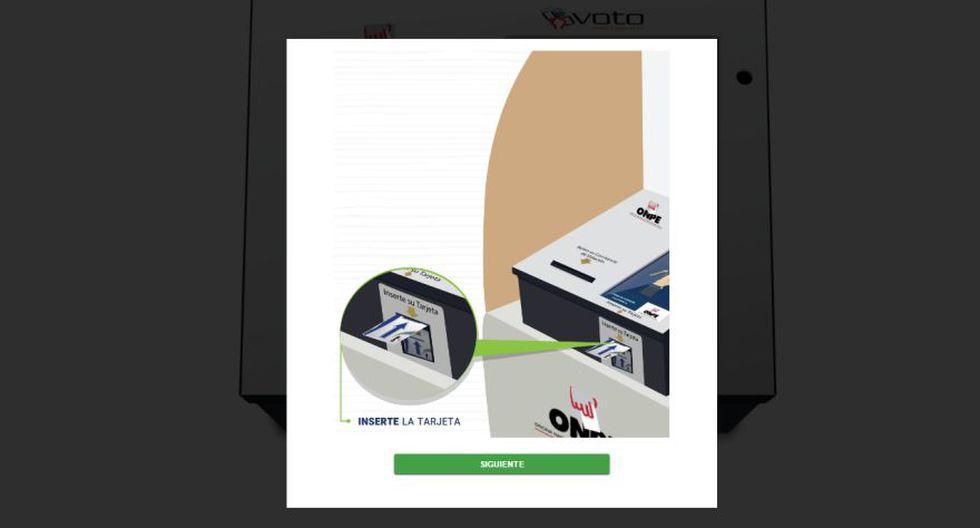 ONPE permite practicar el voto electrónico vía web - 2