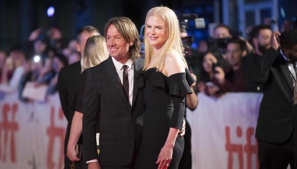 Nicole Kidman recordó su primera cita con Keith Urban. (Foto: AFP)