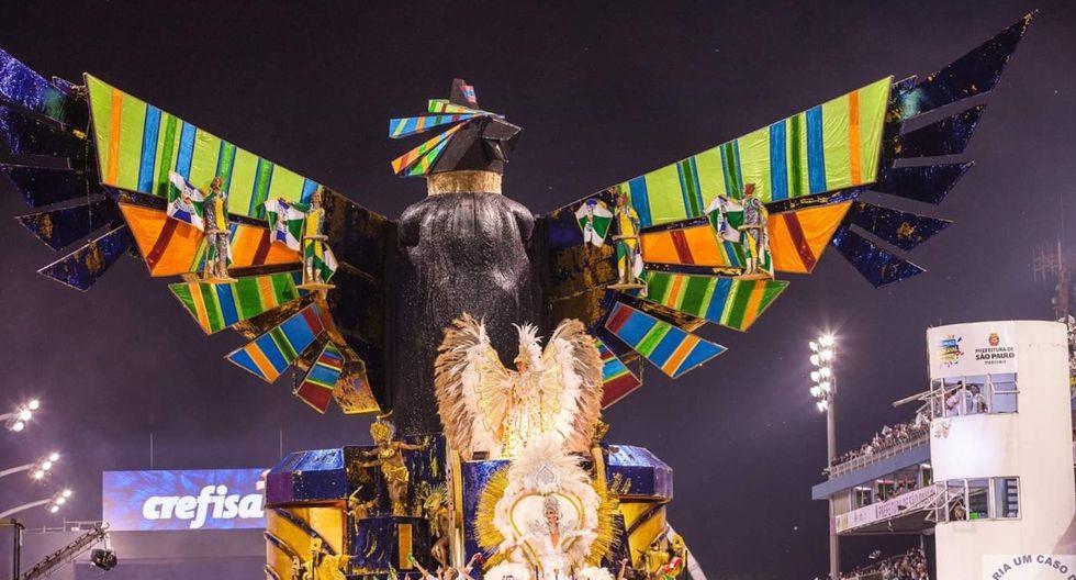 El cóndor demostró toda su majestad en Sao Paulo.<br>(Foto: Escola Unidos Vila María)