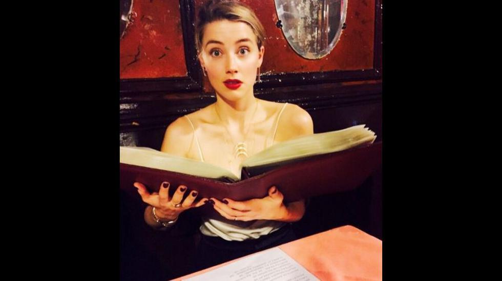 Amber Heard impulsando la lectura. (Foto: Instagram)