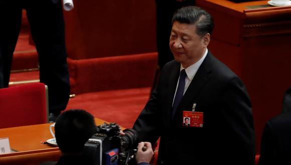 El presidente de China, Xi Jinping. (Foto: EFE)